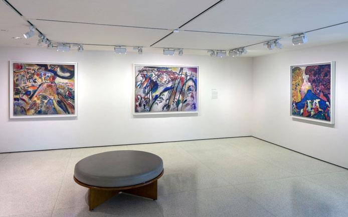 The Kandinsky Gallery, Guggenheim Museum. Photo: David Heald
