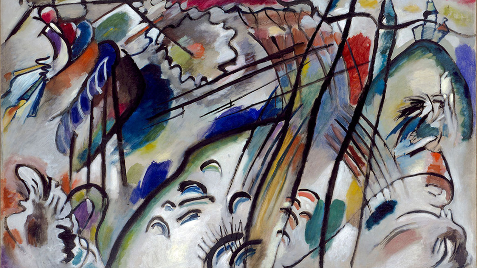 Wassily Kandinsky Abstract Expressionist Manhattan Arts
